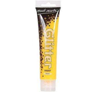Glitter Paint 75ml -Yellow