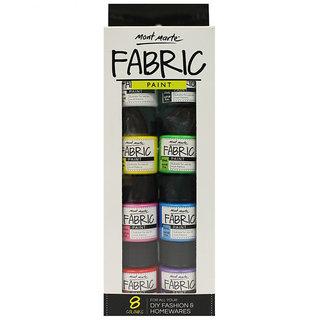 Fabric Paint Set20ml-8Pcs