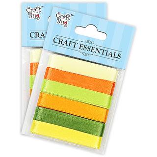 Satin Ribbons 12 mm - Citrus