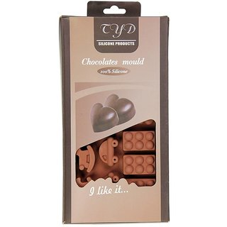 Silicone Chocolate Mould 15 Cavity- Car and Teddy