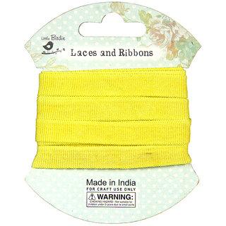 Grosgrain Ribbon - Light Yellow