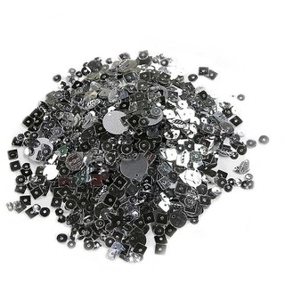 Cup Sequins  Assorted - Silver