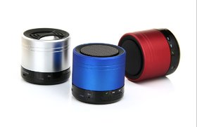 Bluetooth mini Speaker Portable Wireless Player for mobile, laptop, PC, tab and desktop  1pcs  colors assorted