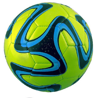 Green Brazuca Football (Size-5)