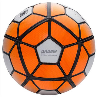 Ordem White/Orange Football (Size-5)