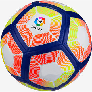 Laliga Orange/Yellow Football (Size-5)