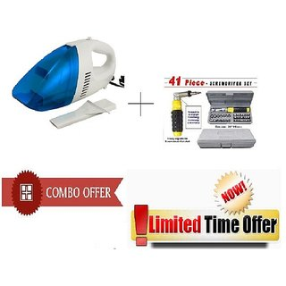 Special Combo Offer Car Vacuum Cleaner With 31 Pcs Jackly