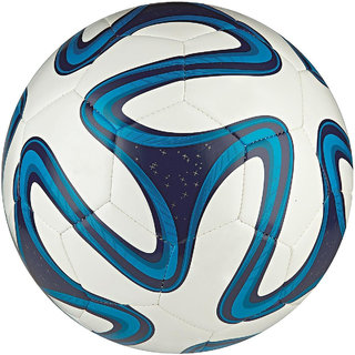 Blue Brazuca Football (Size-5)