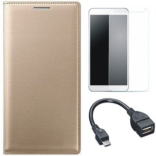 Lenovo A6600 Cover with Tempered Glass and OTG Cable