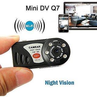 Tvisha World Mini Portable P2P WiFi IP Camera Indoor/Outdoor HD DV Hidden Spy Camera Video Recorder Security Support iPh