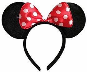 Skywalk Mickey Mouse Minnie Mouse Ears Headband Hairban