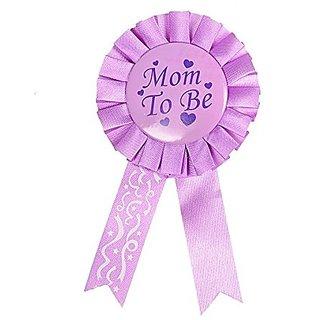 93a32b18e Buy Mom To Be Award Ribbon Pin Badge Baby Shower Favors Gift Party ...