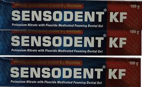 Sensodent KF dental Tooth paste - 100 g ( Pack of3)