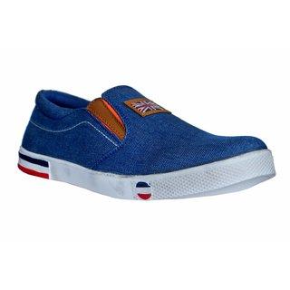 MarcoUno Blue Denim Casual Shoes