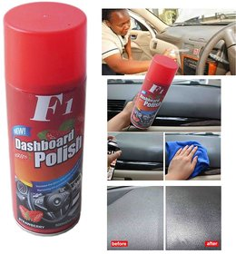 F1 Dashboard Polish Spray And Shiner For All Cars (450ml)