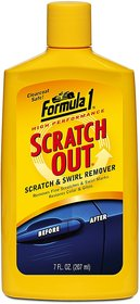 Formula 1 Car Scratch Out Polish Cleaner Rubbing Compound 207 ml