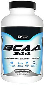 RSP Nutrition 100 Servings BCAA 311 Nutritional test product