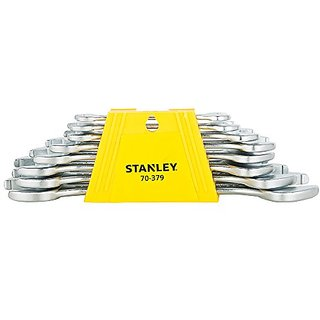 Stanley 8pcs Double Open End Spanner Set (70-379E)