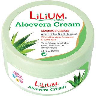 Lilium Aloe Vera Massage Cream 100ml