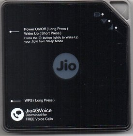 JioFi 5 (Router JMR814) Black