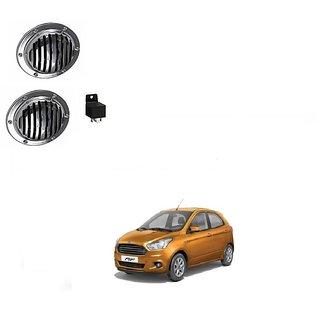 Buy Hella Car Silver Midi Horn Set Of 2 For Ford Figo Online Get