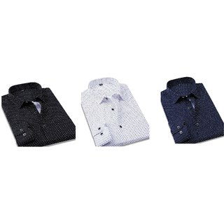 DOTTED SHIRT COMBO (PACK OF 3)