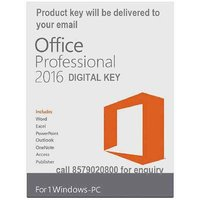 Microsoft Office 2016 Professional Plus GENUINE PRODUCT KEY (Email Delivery)