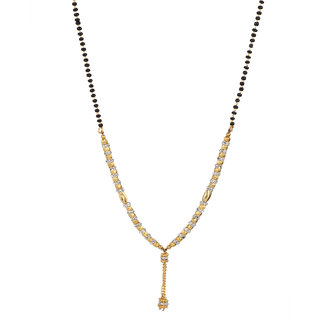 Beunew Gold Plated Mangalsutra for Women(Beunew 464)