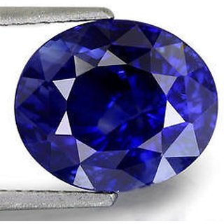 6.75 carat 100 AAA reted blue sapphire (neelam) by lab certified