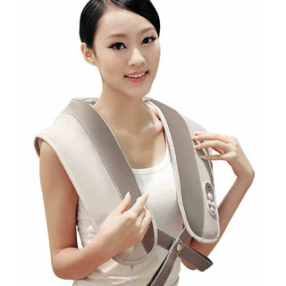 220V Full Body Neck  Shoulder Drum Massage Therapy Full Body Beauty Massager-45