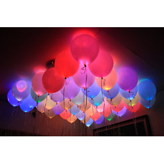 LED Glowing Balloons(set of 25-pcs)