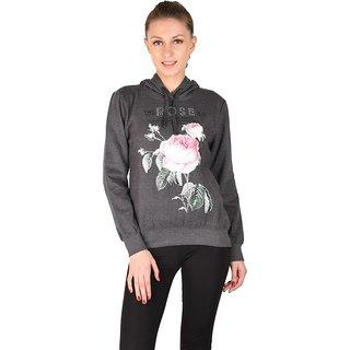 DRIVYA Printed Women's Sweatshirt Full Sleeve