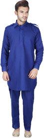 Amina Enterprises Pathani Suit Royal Blue