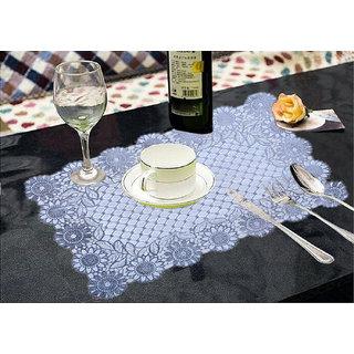 Kuber Industries PVC Dining Table Placemats / Multi Purpose Mats Set Of 6 Pcs