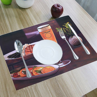 Buy Kuber Industries PVC Dining Table Placemats / Multi Purpose Mats Set Of 6 Pcs Online @ u20b9299 from ShopClues & Buy Kuber Industries PVC Dining Table Placemats / Multi Purpose Mats ...