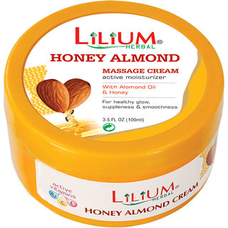 Lilium Honey Almond Massage Cream 100ml