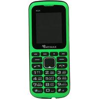 Mymax M24 Dual Sim Feature Phone Green Colour