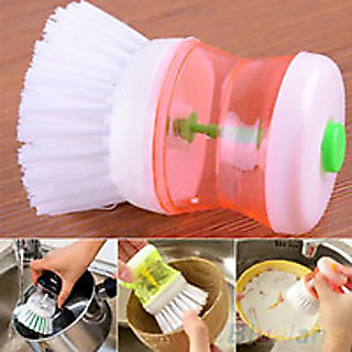 Unique Cleaning Brush With Soap (3 in 1)