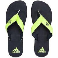 Adidas Men Neon Green And Black Eezay Max Out Flip-Flop