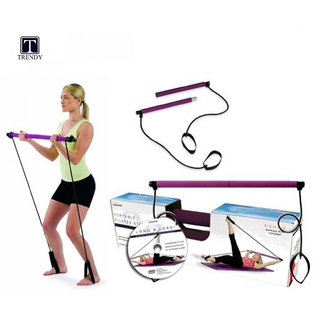 Portable Pilates Studio with DVD for Yoga and Fitness Activities