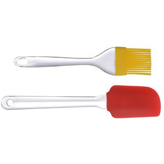 Right Traders  Silicon Cooking Oil Brush Multicolor ( pack of 1 )
