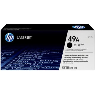 HP 49A Q5949A Black Toner Cartridge For use with LaserJet 1160, 1160Le, 1320, 1320n, 1320nw, 1320t, 1320tn