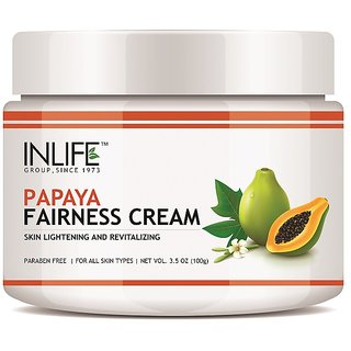 Inlife Papaya Fairness Cream (100g)
