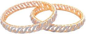 American Diamond Bangles Set for Girls and Women Size_2.6