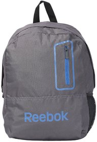 Rebook Gray Unisex Backpack