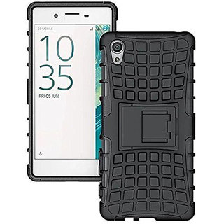Cocakatoo Oppo A37 KickStand Hard Dual Rugged Armor Hybrid Bumper Back Case Cover.