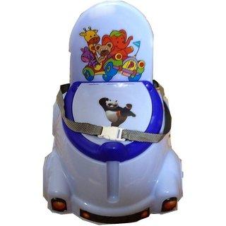 ABASR PANDA CREATION MOTO POTTY SEAT (BLUE WHITE)