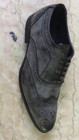 Benzer Shoes Acid-Wash Broque