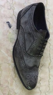 Benzer Shoes Acid-Wash Broque