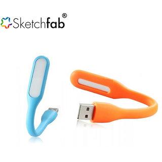 USB Portable Flexible USB LED Light By Sketchfab - Multi Color
